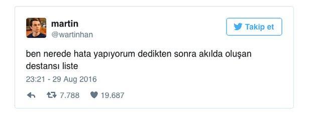 10. Twitter'da Hayata Dair Serzenişini Komik Bir Şekilde Dile Getiren Wartinhan'ın Attığı 21 Tweet