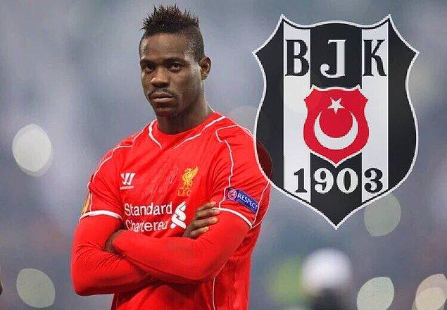 1. Mario Balotelli - Beşiktaş