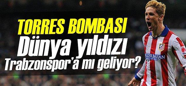13. Fernando Torres - Trabzonspor