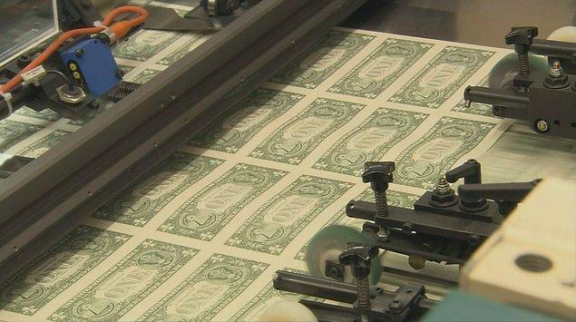 4. Kağıt para kağıttan üretilmiyor.
