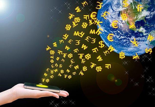 13. Dijital para çağında banknotların önemi azalıyor.