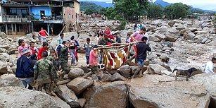 Yüzlerce Kişinin Hayatını Kaybettiği Kolombiya'daki Sel Felaketinden 25 Çarpıcı Kare