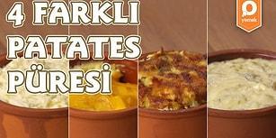Patatesin En Güzel Hali Patates Püresi Hali! 4 Farklı Patates Püresi Nasıl Yapılır?