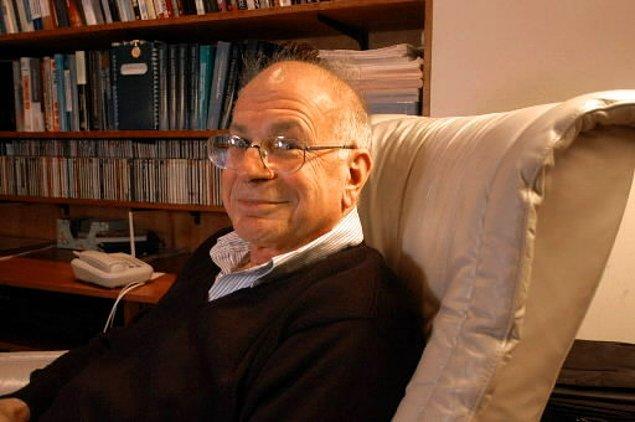 Daniel Kahneman, bugüne dek ekonomi alanında Nobel alabilen tek psikolog.