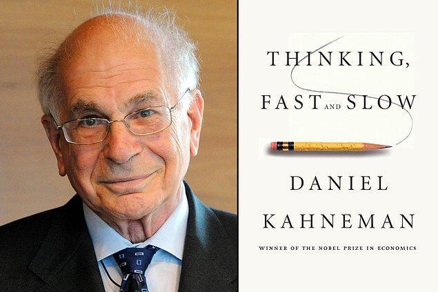 'Hızlı ve Yavaş Düşünme' adlı kitabında Kahneman tercihlerimizi iki farklı sistemle yaptığımızı ortaya koyar: