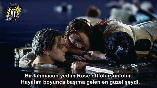 11. Titanic yayınlanmamış sahneler