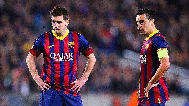 4. Messi tam 2004'ten beri Barcelona forması giyiyor fakat hala efsanevi isim Xavi Hernandez'e ait olan 767 maçlık rekoru kıramadı.
