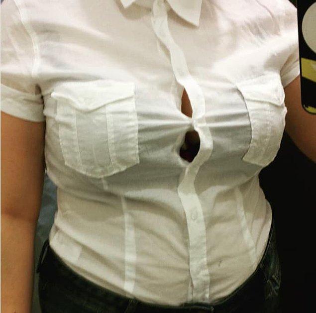 4. Veya önü düğmeli gömlekler...