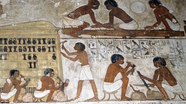 Böylelikle işçi ve kölelere verilen tayın payları, standart hacimler halinde düzenlenirdi.