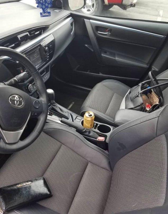 10. Arabada arkanızda oturan yaşadı.