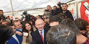 Kılıçdaroğlu'ndan 'Evet' Çadırına İade-i Ziyaret