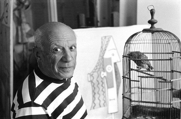 6. Bunun üzerine Picasso göz altına alındı. Bu da artık tablonun iyiden iyiye ününü artırması demekti.