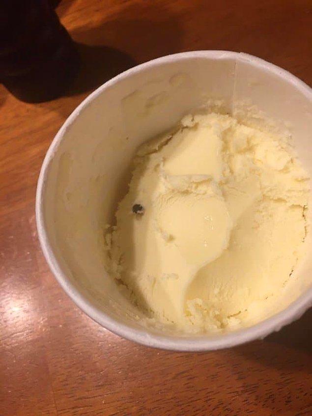 1. Dondurmanın içinde yapayalnız kalmış üzgün çikolata. 🍦😪