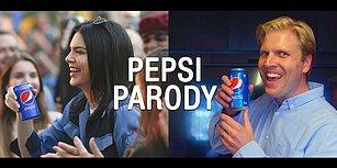 Tartışma Konusu Olan Kendall Jenner'lı Pepsi Reklamına Yapılan Parodi