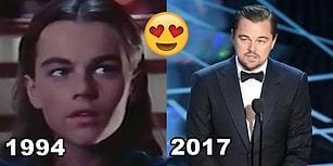 Leonardo DiCaprio'nun Geçmişten Bugüne Muhteşemliğini Koruduğunu Kanıtlayan 24 Kare