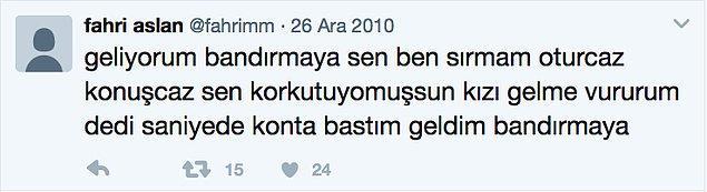11. Bandırma ne ki Turgut Abi? Sen fizana gidersin bu aşkla.