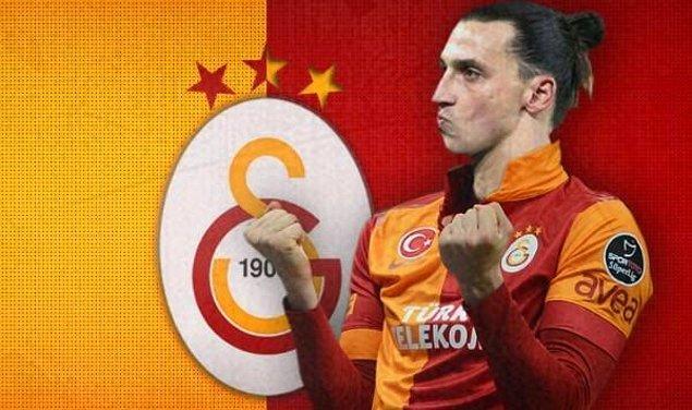 1. Zlatan Ibrahimovic - Galatasaray