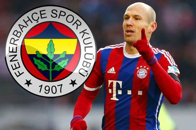 2. Arjen Robben - Fenerbahçe