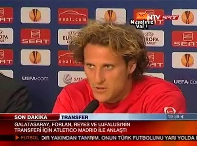 12. Diego Forlan - Galatasaray