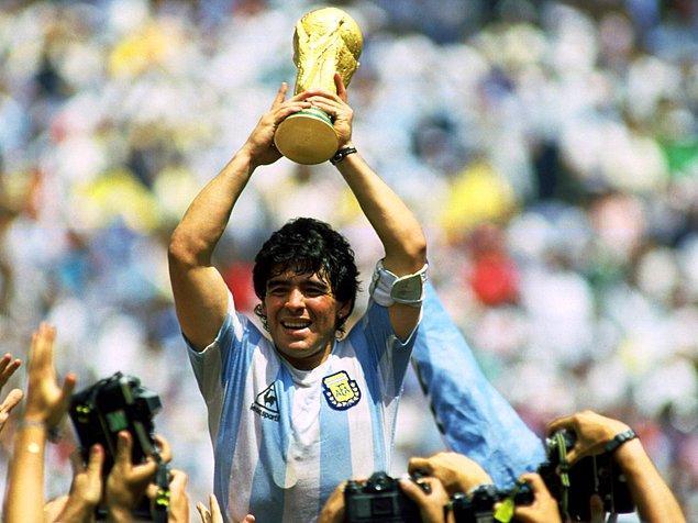 18. Diego Armando Maradona / Arjantin