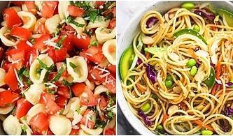 Salata ve Makarna İkilisinden Aç Bünyeleri Doyurma Garantili 12 Makarna Salatası Tarifi
