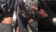 Tayt Yasağı Sonrası United Airlines'tan Bir Skandal Daha: Yolcuyu Döverek Uçaktan İndirdiler!
