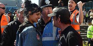 İngiltere'de Başörtülü Kadını İslamofobik Gruptan Koruyan Kahraman Kadın: Saffiyah Khan!