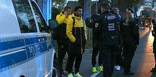 Almanya'da Borussia Dortmund-Monaco Maçı Öncesi Patlama