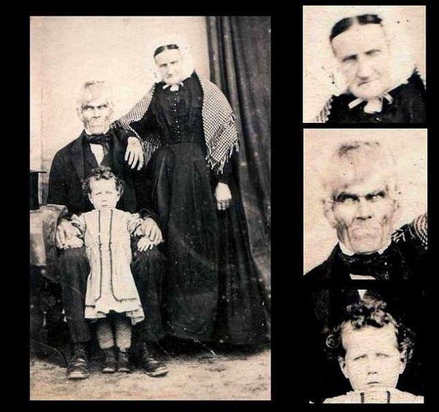 23. Ölü mü yoksa diri mi oldukları belli olmayan aile.