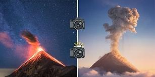 Yıldızların Altında Görsel Şölen: Guatemala'daki Yanardağ Patlamasından Olağanüstü Görüntüler
