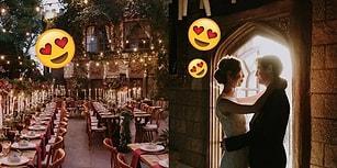 Çıtalar Ağladı Be! Aşkın Büyüsünün Gerçek Sihirle Birleştiği Harry Potter Temalı Düğün