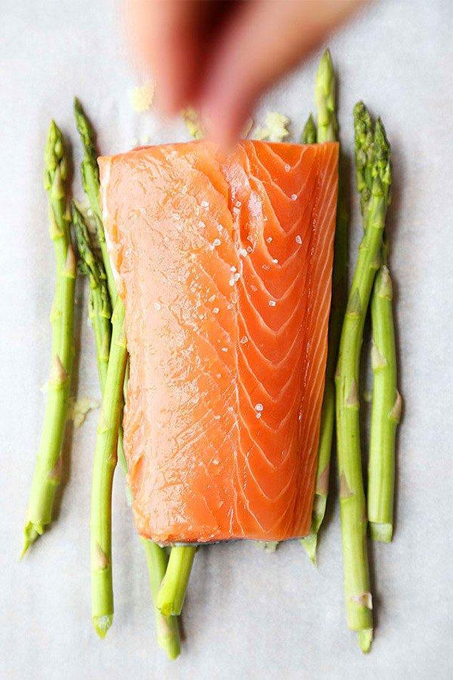 7. Salmon En Papillote.