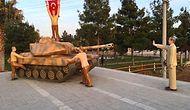 Sosyal Medyanın Gündemi: Tankı Durduran Erdoğan Anıtı