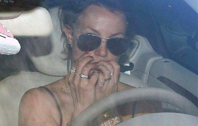 5. Bir başka olayların kadını ise Britney Spears!