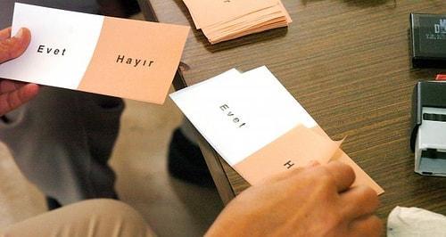 Antalya referandum sonuçları gelmeye başladı. Antalya'da kaç evet, kaç hayır çıktı?