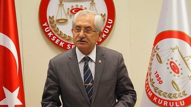 YSK Başkanı Güven, 'İtirazlara öğleden önce bakacağız' demişti...