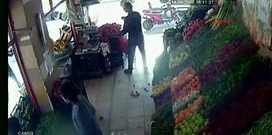 Pompalı Tüfekli Saldırıya Domatesle Karşılık Veren Yurdum İnsanı