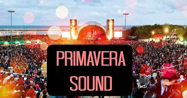 4. Barselona'nın atmosferinde gerçekleşen bahar festivali: Primavera Sound / İspanya