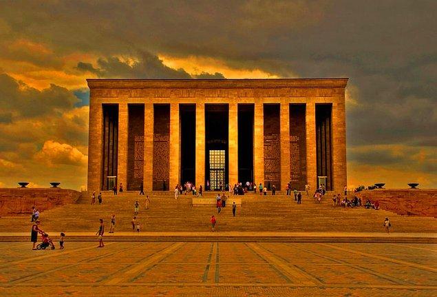 4. Ankaranın en önemli simgesi: Anıtkabir