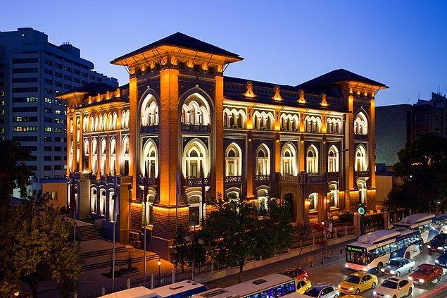 21. Ankara'nın tarihi binası: Ziraat Bankası Genel Müdürlük Binası