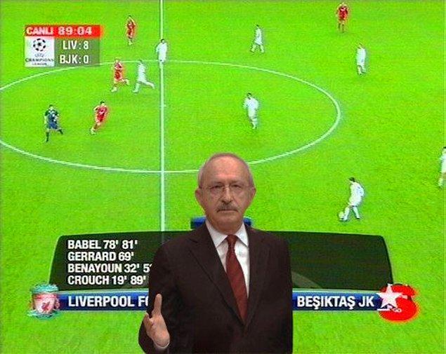 6. Liverpool Beşiktaş