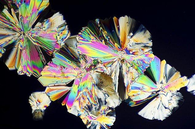 1. Şeker kristali