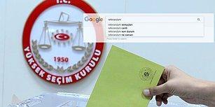 Türkiye Anayasa Referandumunu Google'da Nasıl Aradı?