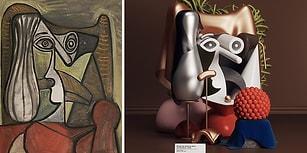 Ünlü Picasso Tablolarını Post-Modern Heykellere Uyarlayan Dijital Sanatçı: Omar Aqil