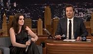 Anne Hathaway ve Jimmey Fallon Şarkıları Google Translate Çevirisiyle Yeniden Yorumladı