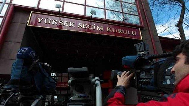YSK'dan yapılan açıklamayla itirazların görüşüleceği toplantının saat 14:30'da başlayacağı ve kararın açıklanacağı belirtilmişti.