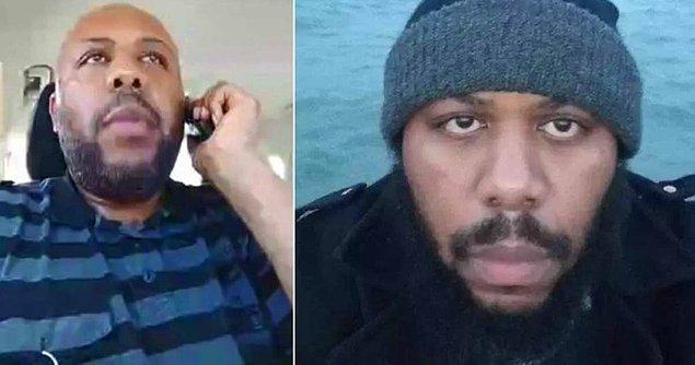 Stephens'ı haberlerdeki fotoğraflarından tanıyan McDonalds görevlisi, silahlı olduğunu bilmesine rağmen adamı oyalamaya çalışıyor.