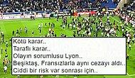 Beşiktaş'a Verilen Ceza Sonrası Taraftarlar Sosyal Medyadan UEFA'ya Tepki Gösterdi
