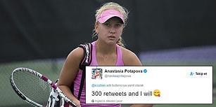 Türklerle İddiaya Girilmeyeceğinin Bir Kanıtı Daha: Rus Tenisçi Türk Takipçisine Raket Gönderecek