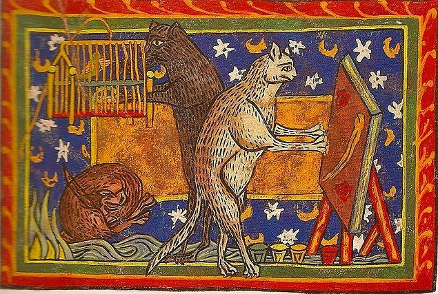 Kedilerin sahip oldukları bu statüyü kaybetmeye başlamaları ise Orta Çağ'a denk düşmektedir.